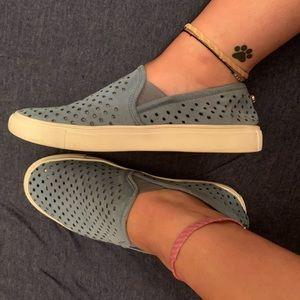 Blue Steve Madden Owen Slip-On Sneakers